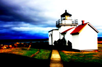 Point No Point Lighthouse, Hansville, Washington
