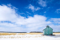 Wisconsin Winter Barn