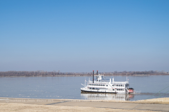 Riverboats on Mississippi