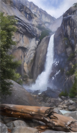 Artistic Rendering of Falls